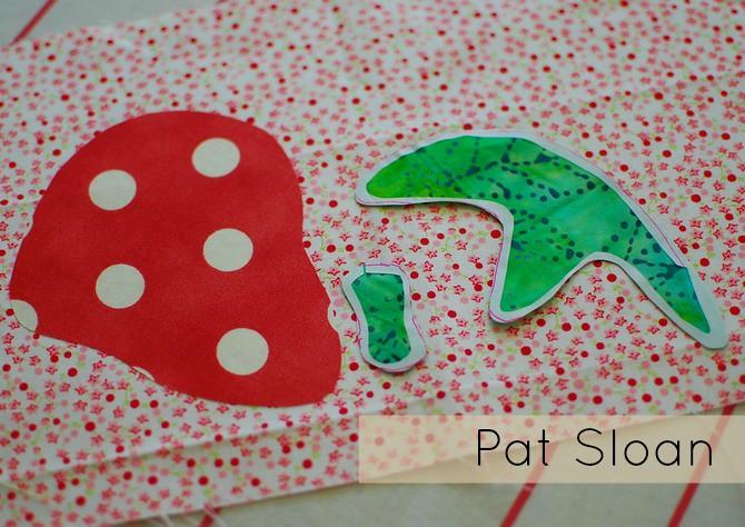 Pat Sloan Fusible Applique tutorial 10