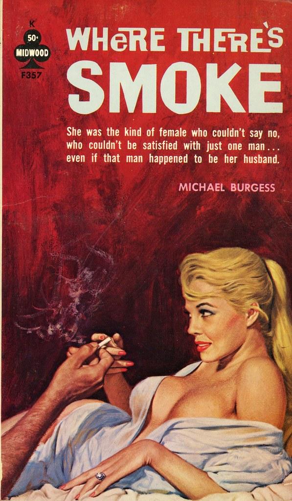 Midwood Books F357 - Michael Burgess - Where Theres Smoke -7287