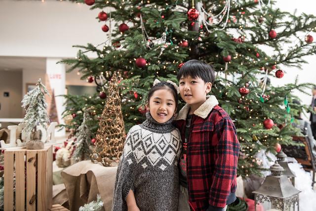 2016 크리스마스 트리앞에서