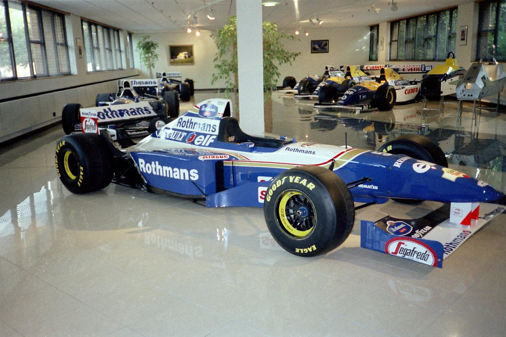 damon hill 39 s 1995 williams renault fw17b williams grand flickr. Black Bedroom Furniture Sets. Home Design Ideas