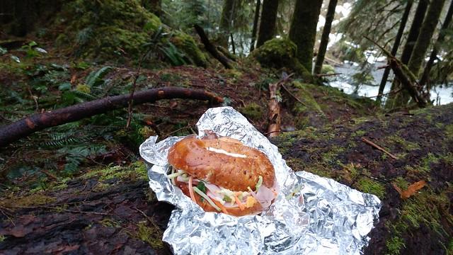 Trail bagel!