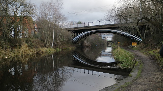 Bridge reflections in Sheffield