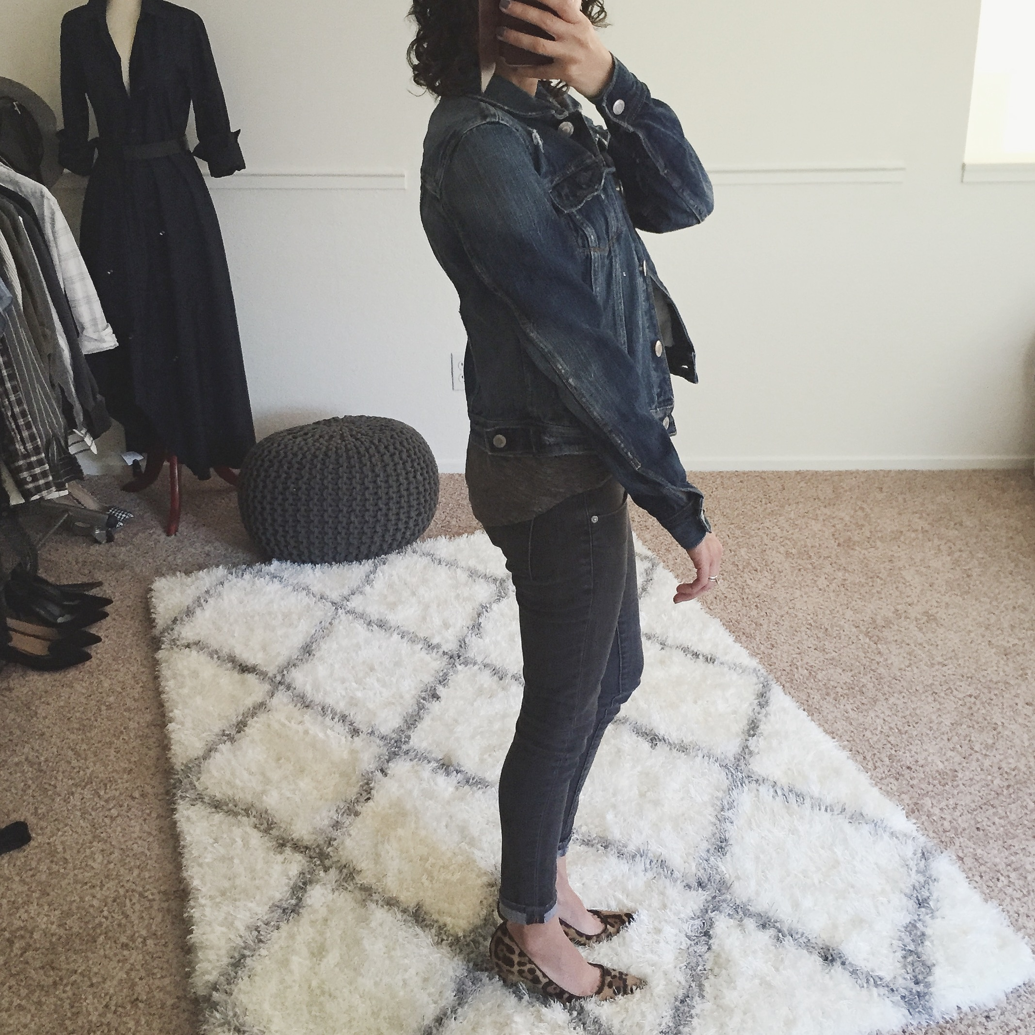 Review American Eagle Denim Jacket petite