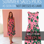 Not Dressed As Lamb's summer sales picks