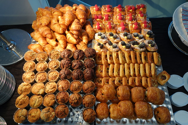 Pastries. Breakfast Buffet at Sky on 57, Marina Bay Sands