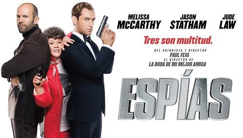Reseña película: Espías
