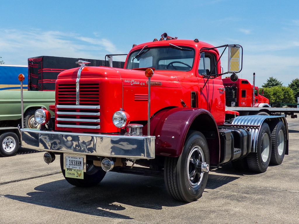 Trucks For Sale In Ohio >> Andy's 1966 Hendrickson Semi Tractor Truck | ExpediteExpo 20… | Flickr