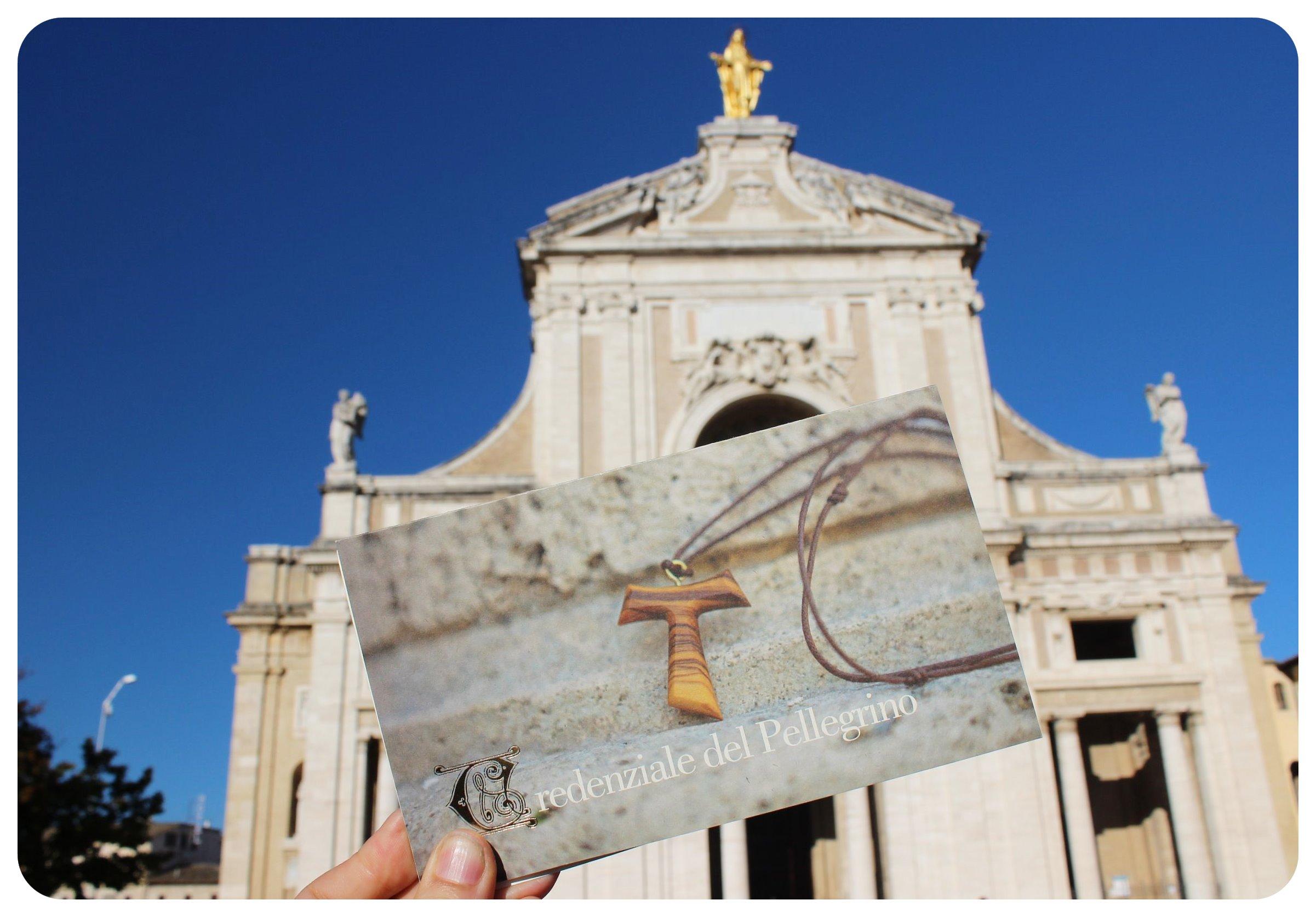 assisi pilgrims passport