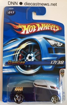 2006 Hot Wheels, Qombee, 2006 First Editions