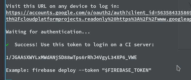 Generate firebase Token