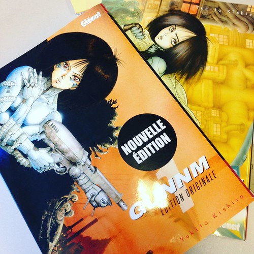 New french edition for Gunnm