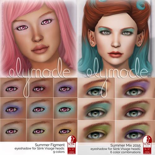 cosmetics for Slink Visage faces