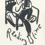 Sketchbook #89 - Reading Time
