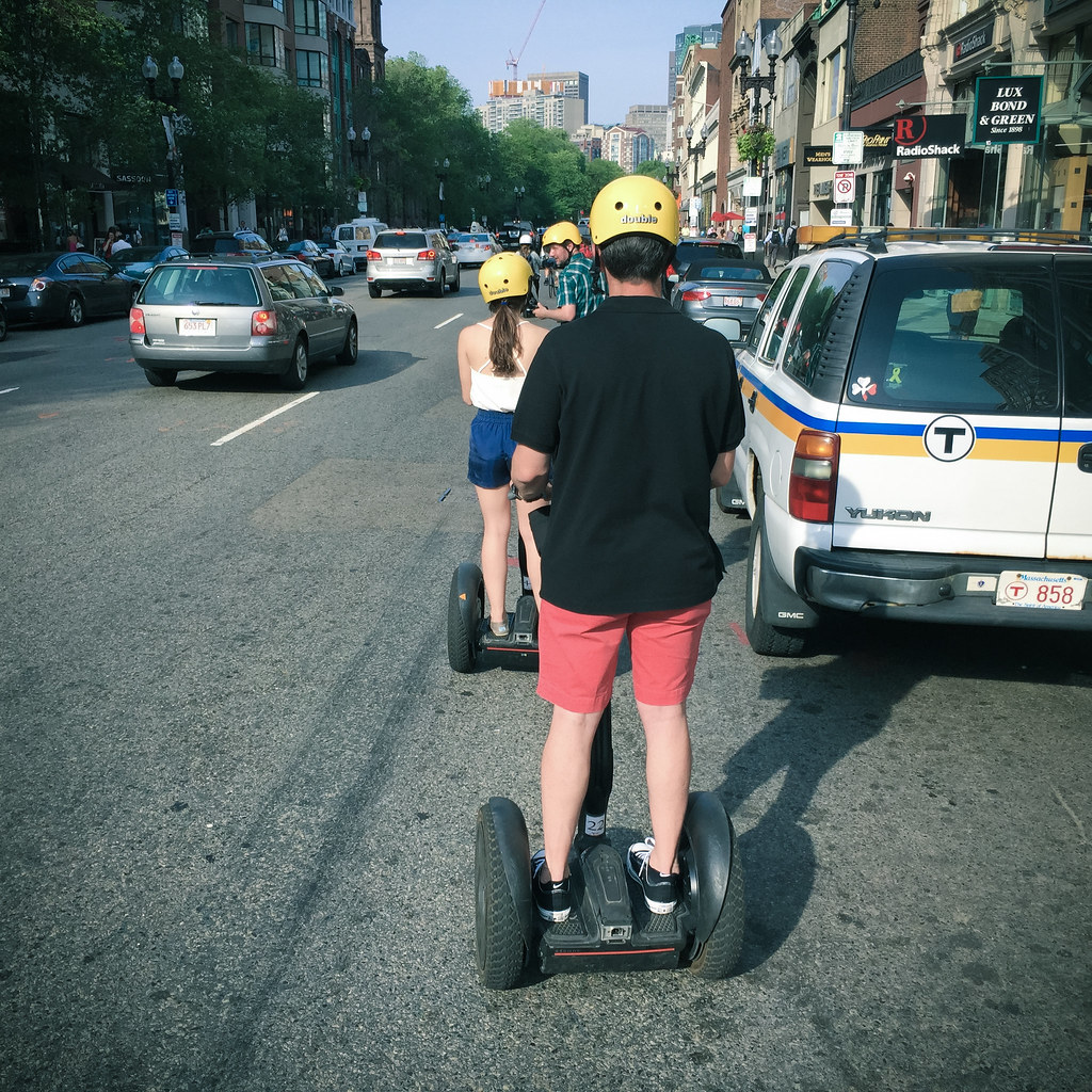 Joining a Segway Tour