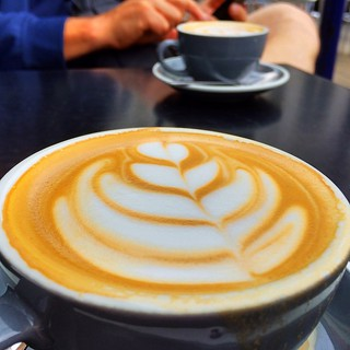 Heart starter in Folkestone today! At Googies Art Cafe - great customer service :) #upsticksandgo #coffee #folkestone #googiesartcafe #michfrost #unitedkingdom #travel #travellingtheworld #cafelife | by UpSticksNGo
