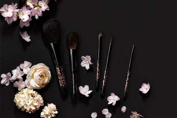 Chikuhodo x Beautylish The Sakura Brush Set Collection
