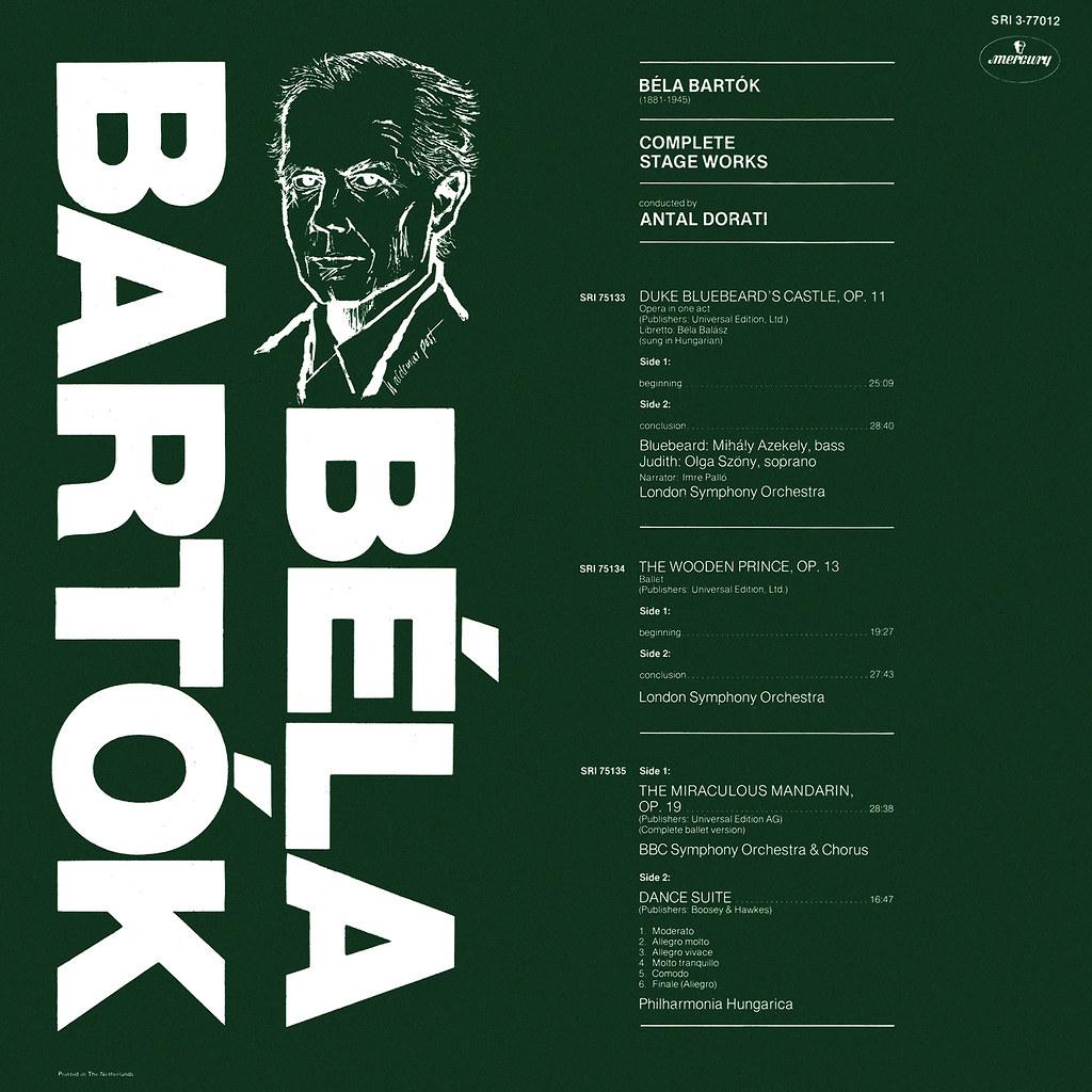 Béla Bartók -  Complete Stage Works