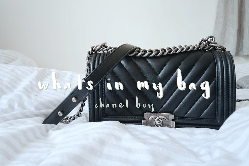 Daisybutter - Hong Kong and Fashion Blog: what's in my bag, Chanel Boy