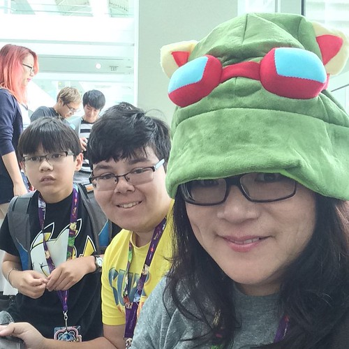 Our last day at #AnimeExpo15