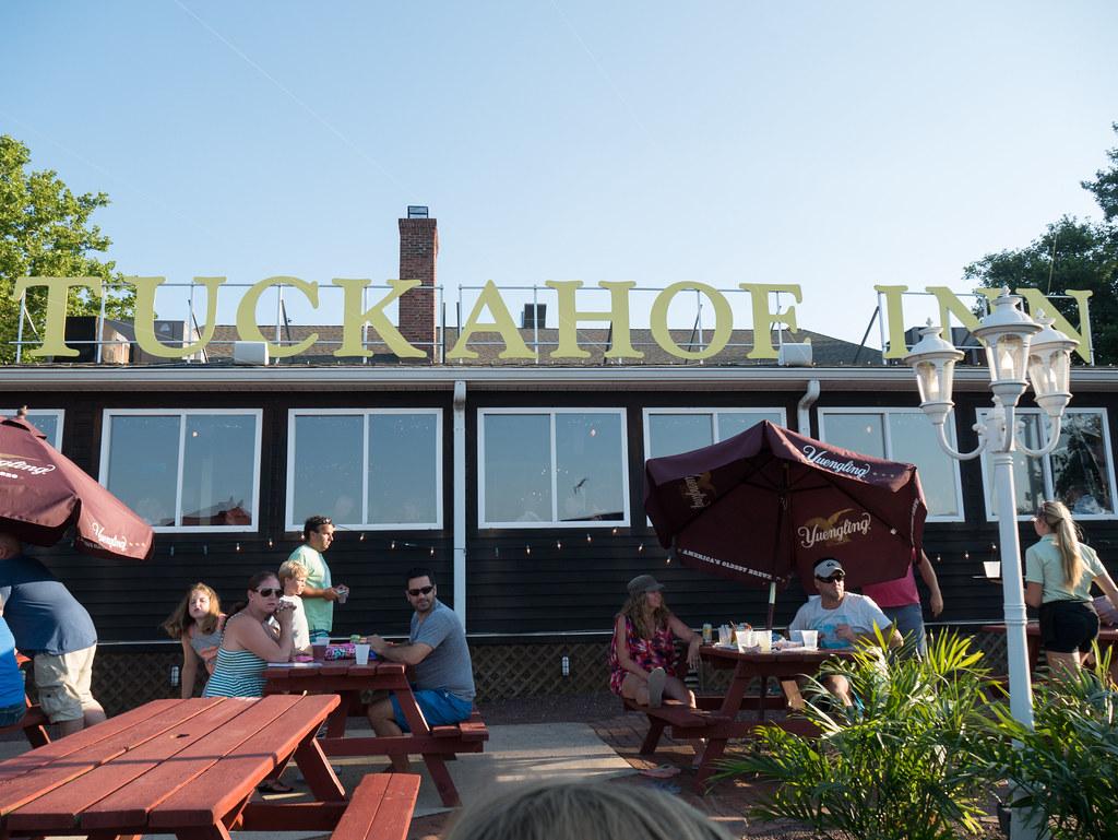 Tuckahoe Inn Back Bay Cafe Menu