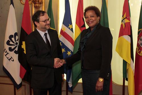 Secretária Executiva recebe representante da FAO junto da CPLP