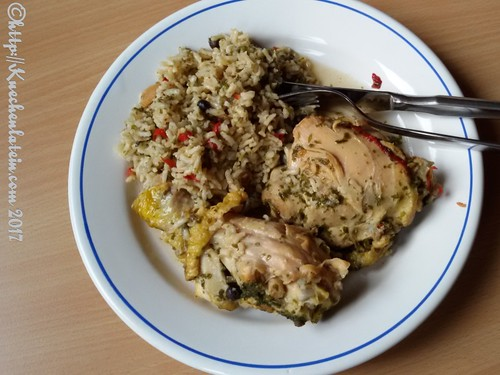 Pilaw mit Huhn