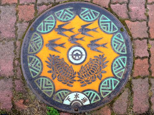 Tsubame Nigata, manhole cover (新潟県燕市のマンホール)
