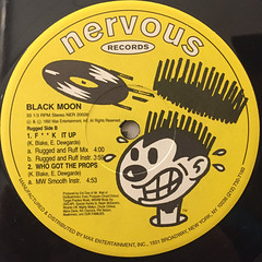 BLACK MOON:WHO GOT THE PROPS(LABEL SIDE-B)