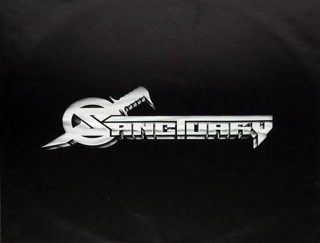 "SANCTUARY REFUGE DENIED DAVE MUSTAINE 12"" vinyl LP"