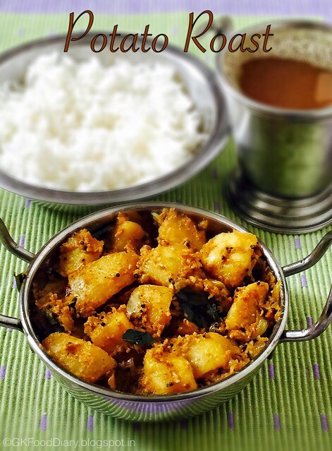South Indian Potato Roast 1