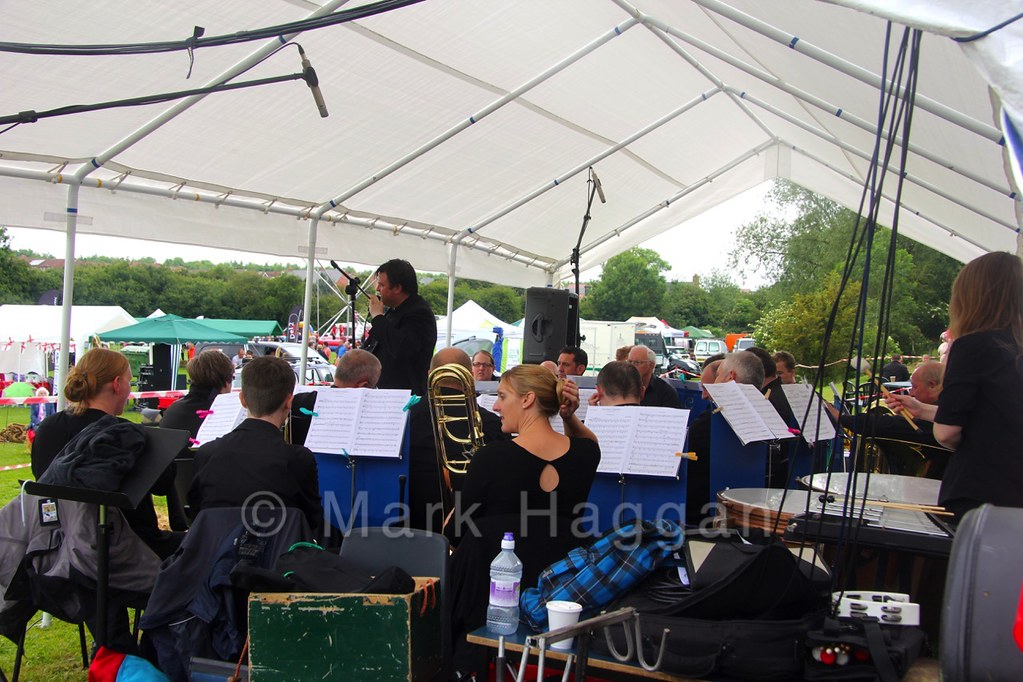 Gresley Brass Band at the Heart of the Forest Festival
