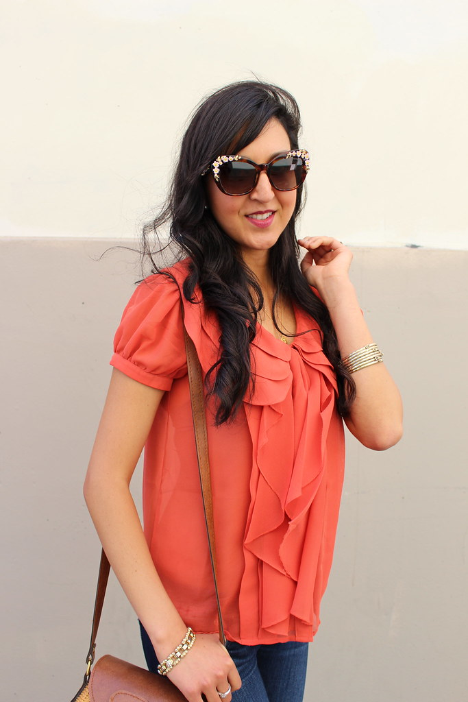 Orange Casual 8