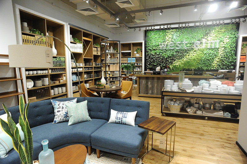 West Elm Store in Estancia, Capitol Commons