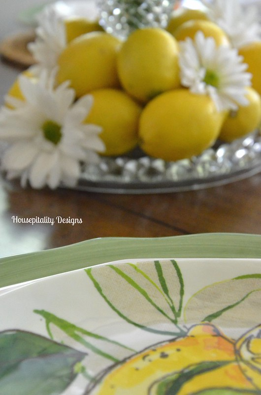 Lemon & Daisy Centerpiece-Housepitality Designs