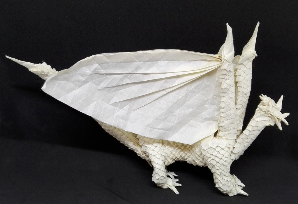 Origami Radiant Dragon By Bart Davids A Scaled Western D Flickr