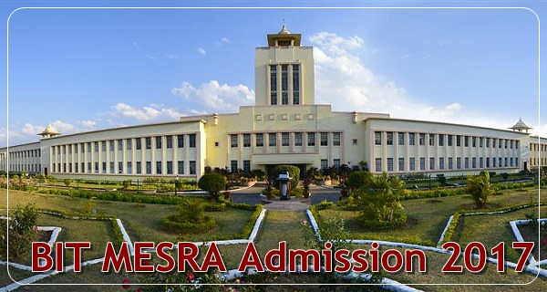 BIT MESRA Admissions