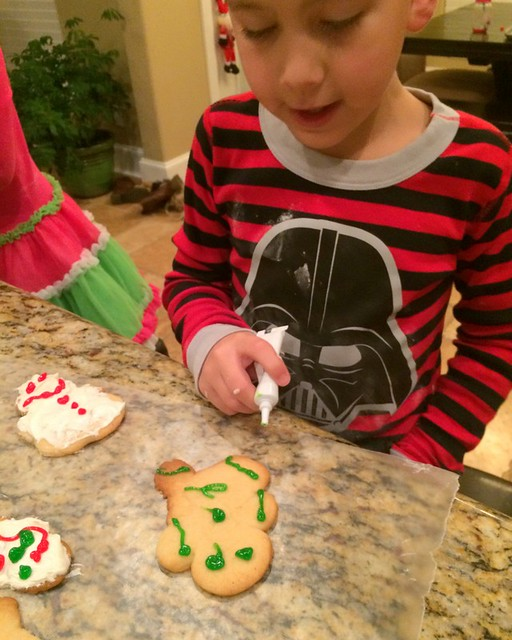 Santa Cookies 20141