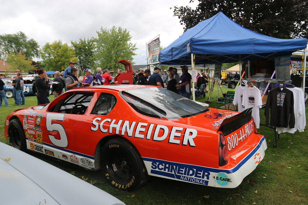 Freedom Race Car Show Dick Trickle Busch Car Wit Flickr - Car show tent