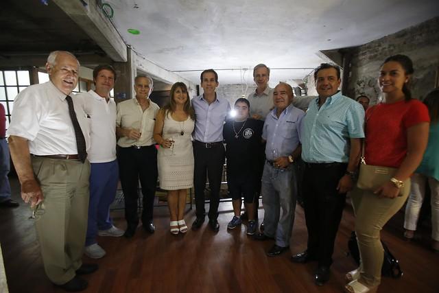 Reunión con locatarios de San Diego