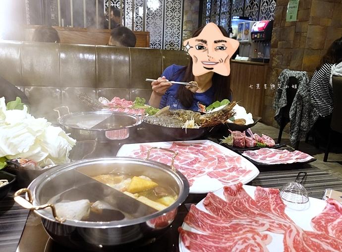 51 丰明殿 信義殿 超大肉盤 涮涮鍋 痛風海鮮盤