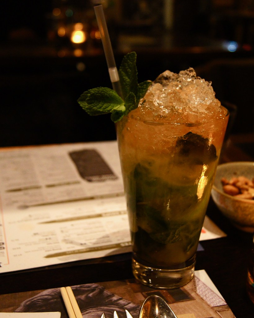 #datenight at the Printworks - Asian Mojito