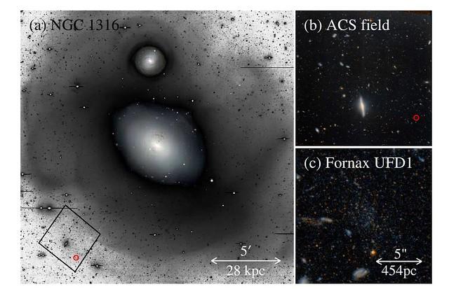 VCSE - NGC 1316 (ESO)