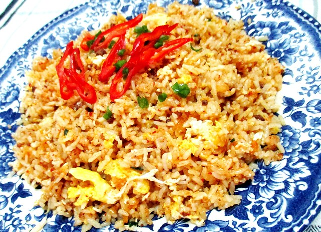 Bacon sambal fried rice 2