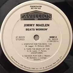 JIMMY MAELEN:BEATS WORKIN'(LABEL SIDE-B)