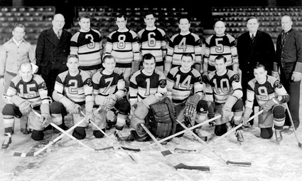 1939-40 St Paul Saints team
