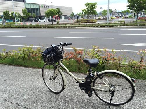 レンタサイクル 電動アシスト自転車