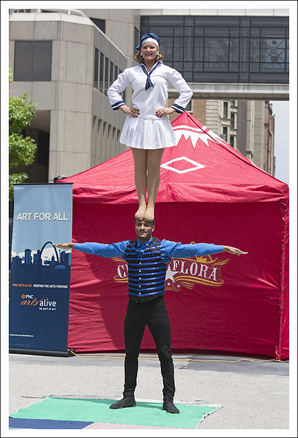Circus Flora In Citygarden 2015-06-02 12
