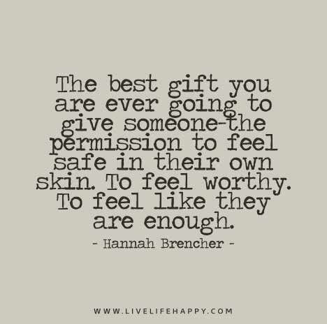 The Best Gift You Are Ever Going To Give Someonethe Permission To