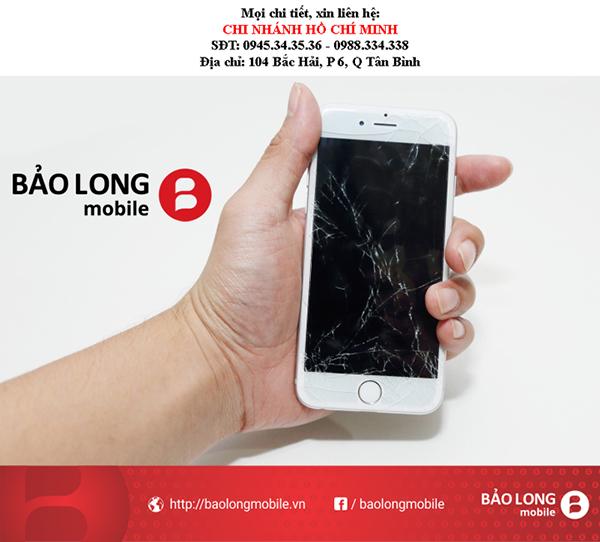 """Phân biệt màn hình """"zin""""sau khi thay màn hình iPhone 6"""