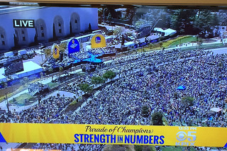 Golden State Warriors - Victory Parade Kpix5